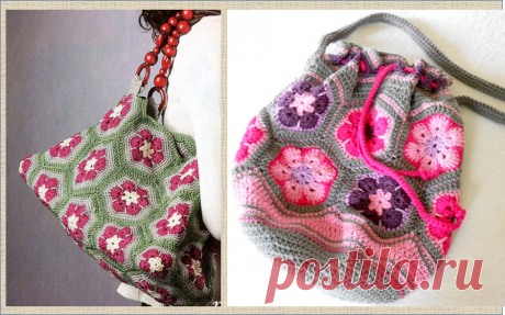 Африканский цветок - популярный мотив для вязания крючком в схемах и подборке работ   МНЕ ИНТЕРЕСНО   Яндекс Дзен