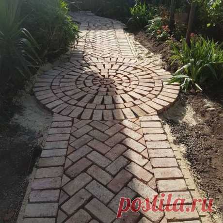 Untitled #garden landscaping Untitled#garden #landscaping #untitled ...you are only planning on foot traffic you will need to dig the path area down about two to four inches for the base…