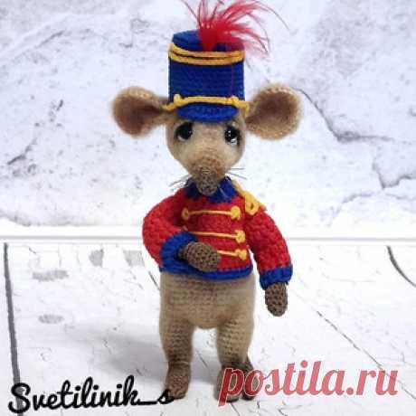 Мышиный карнавал амигуруми. Схемы и описания для вязания игрушек крючком! Бесплатный мастер-класс от Михетовой Светланы по вязанию маленькой мышки с Мышиного карнавала. Высота вязаной крючком игрушки примерно 10 см. Для изго…