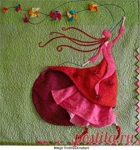 03-mar-2017 - El Appliqué o Aplicación es una técnica de Patchwork que consiste en coser una o varias capas de tela sobre un tejido de fondo, generalmente componiendo un motivo. Su nombre es de origen francés, p…