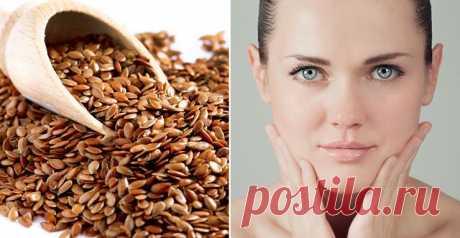 Linen seed instead of Botox