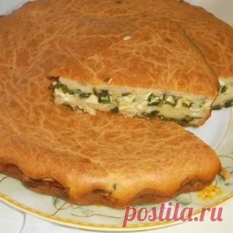 El pastel aéreo de aspic con los huevos y verde luchkom - MirTesen