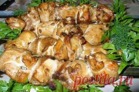 Кулинарная Академия Умных Хозяек: Шашлык из куриной грудки в соевом маринаде