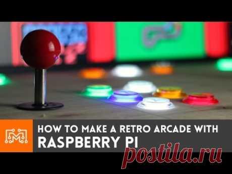 Raspberry Pi Retro Arcade using RetroPie (with NO programming) // How-To