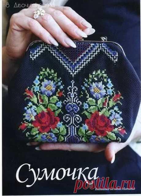 Схемы для сумочек | cross-stitch