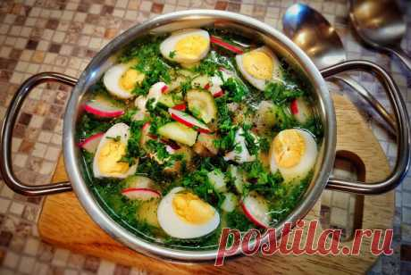 Окрошка на белом квасе с перепелиными яйцами и эстрагоном рецепт – русская кухня: супы. «Еда»