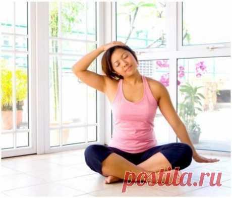 Упражнения китайской медицины для шейных позвонков / Будьте здоровы