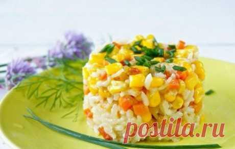 Рис с кукурузой / Простые рецепты