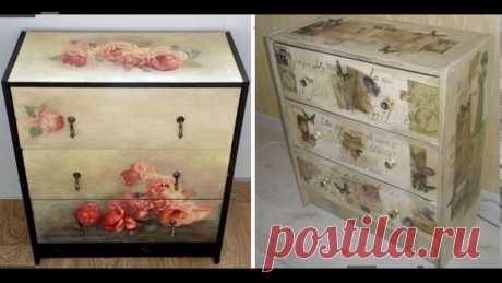 Доступным способом изменения интерьера является переделка старой мебели своими руками по фото до и после