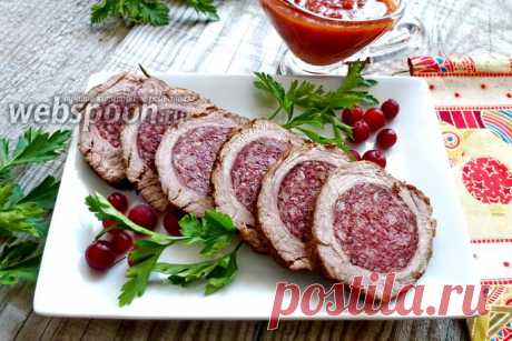 """El panecillo de carne de \""""Stefaniya\"""" - es apetitoso, potryasayusche es perfumado y es admirablemente sabroso"""