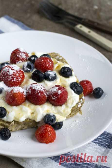 Торт на завтрак – быстро, вкусно и не калорийно!