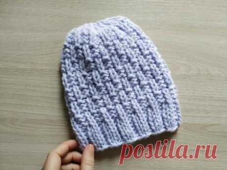 Женская шапки спицами красивым узором » «Хомяк55» - всё о вязании спицами и крючком
