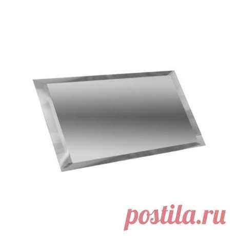Керамическая плитка ДСТ Прямоугольная зеркальная графитовая с фацетом 10мм ПЗГ1-02 - 480х120 мм/10шт – купить в Москве в интернет-магазине Отделкино City