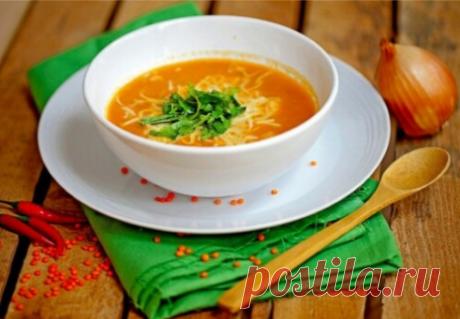 Бразильский острый суп из чечевицы