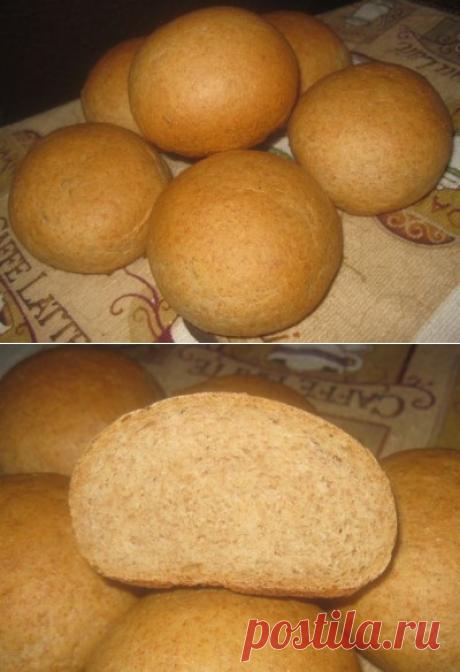 Цельнозерновые булочки : Хлеб, батоны, багеты, чиабатта