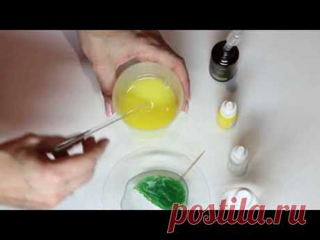 Мыло ручной работы - Яблоко