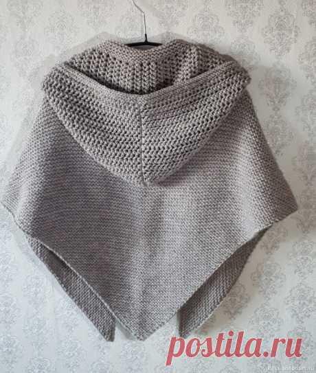 Описание шали с капюшоном | Куплю-продам