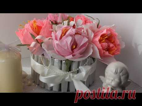 Как сделать Букет из конфет в стиле Шебби Шик - запись пользователя Anna Makes Flowers (Анна) в сообществе Свит-дизайн в категории Мастер классы по свит-дизайну