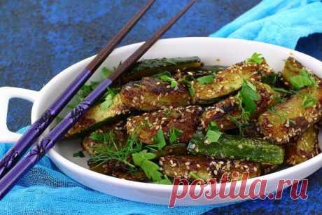 Жареные огурцы — Sloosh – кулинарные рецепты