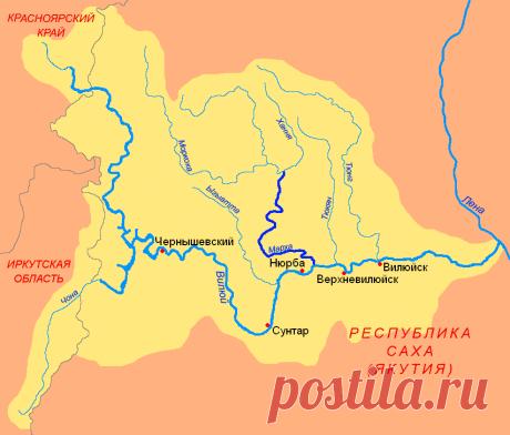 Река Вилюй | Популярная наука | Яндекс Дзен