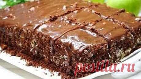 Домашний торт, который не нуждается в пропитке и готовится быстро