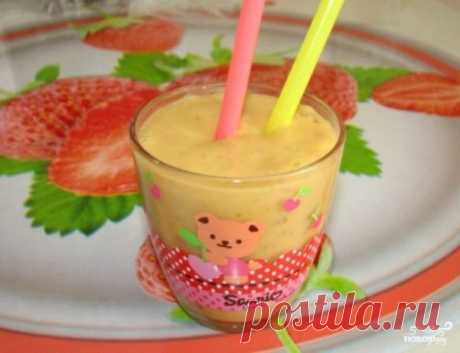 Смузи для детей - пошаговый рецепт с фото на Повар.ру