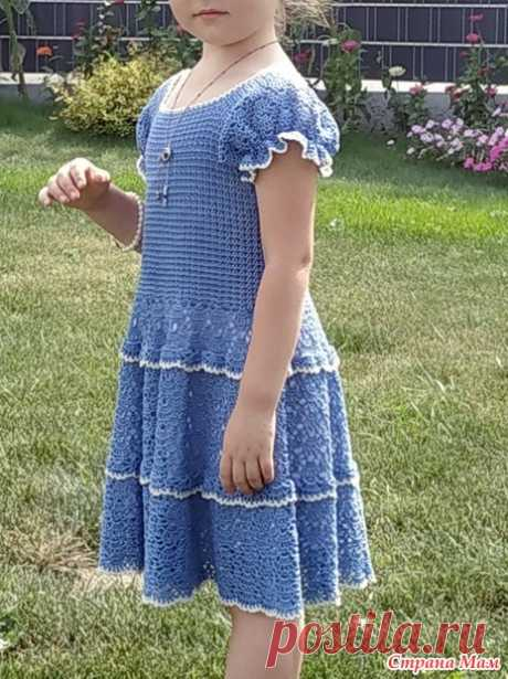 Платье и болеро крючком для девочки - Все в ажуре... (вязание крючком) - Страна Мам