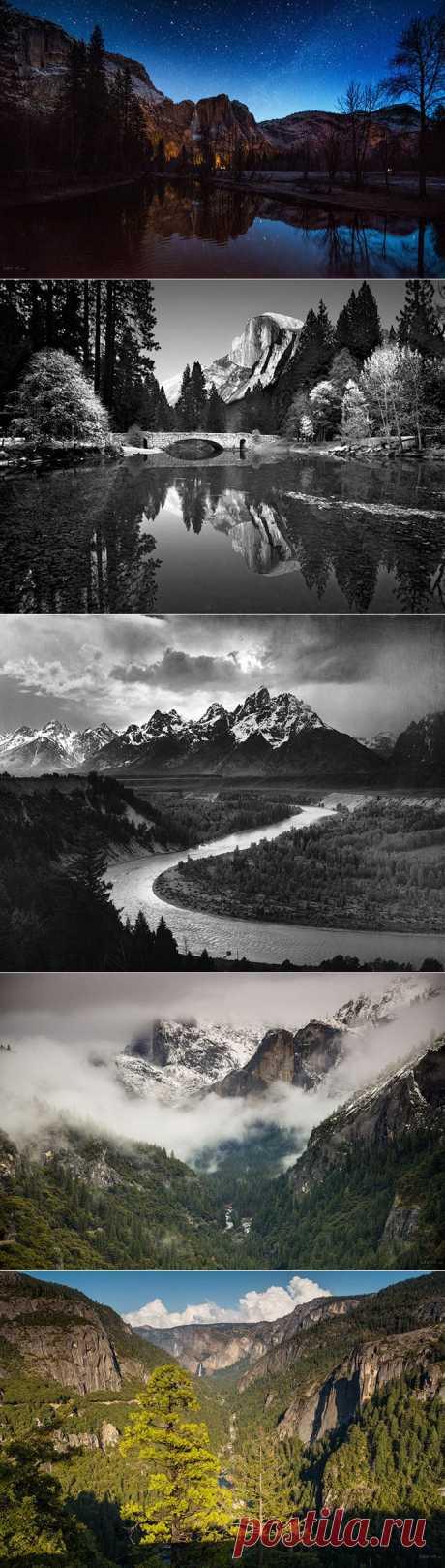 (+1) тема - Национальный парк Йосемити в США | Непутевые заметки