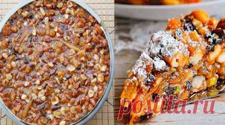 Десерт Панфорте. Самый ореховый десерт Нравится абсолютно всем!