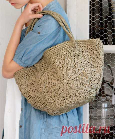 Модные вязаные сумки с описанием.🌺 | Asha. Вязание и дизайн.🌶 | Яндекс Дзен