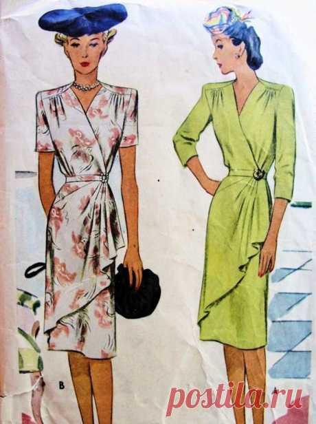 Платья с запахом и драпировкой
