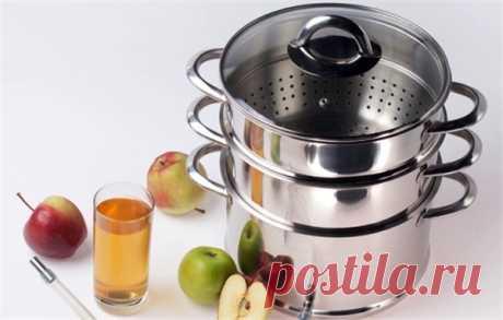 Как варить сок из яблок в соковарке на зиму   Краше Всех