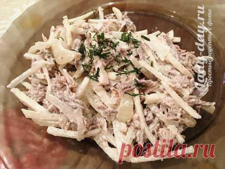 Салат Ташкент - рецепт классический из говядины | Простые рецепты с фото