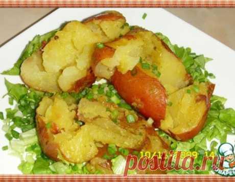 Картофель по-деревенски – кулинарный рецепт