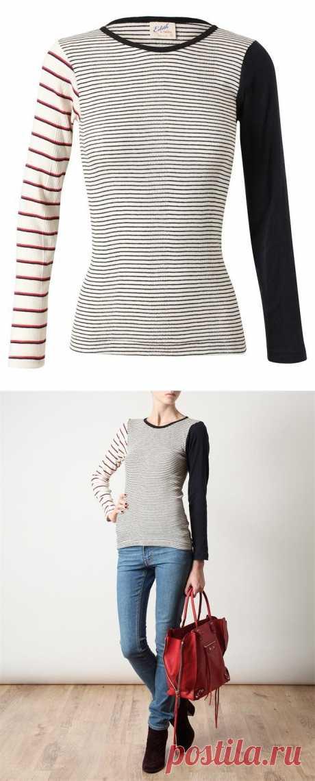 Один из трёх / Свитер / Модный сайт о стильной переделке одежды и интерьера
