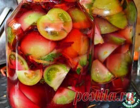 """Зеленые помидоры """"100 граммов"""" – кулинарный рецепт"""