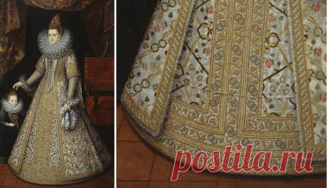 Загадочная деталь на испанских платьях эпохи Возрождения | История моды с Марьяной С. | Яндекс Дзен