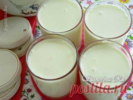 Домашний йогурт в мультиварке Redmond: рецепт с фото
