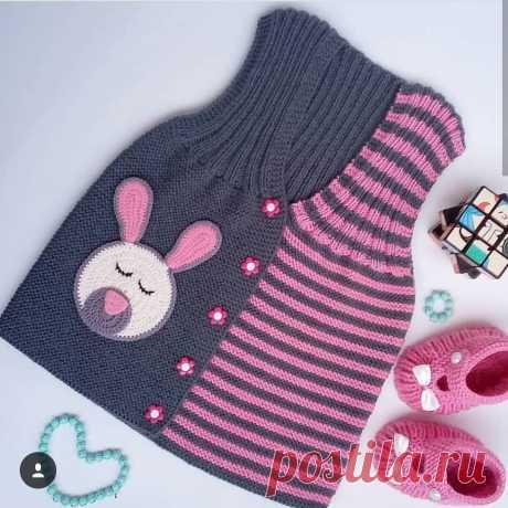 14 моделей вязанных жилеток для малышей. | Блог про вязание | Яндекс Дзен