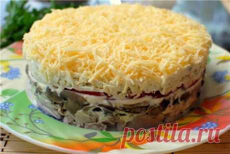 """Лучшие кулинарные рецепты : Салат """"Тоска"""""""