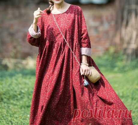 Women plus size long dress boho dress Women dress Oversized   Etsy