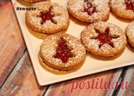 Песочное печенье с желейной начинкой | Sweet Twittes