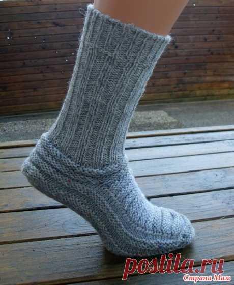 Фирменные носки от Stepaszka - переделка - Вязание - Страна Мам