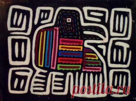 Kuna Indian Hand-Stitched Toucan Dude Mola II-Panama 18042639L | eBay