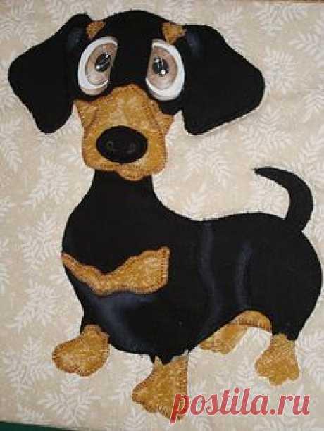 dachshund quilt | Dogs
