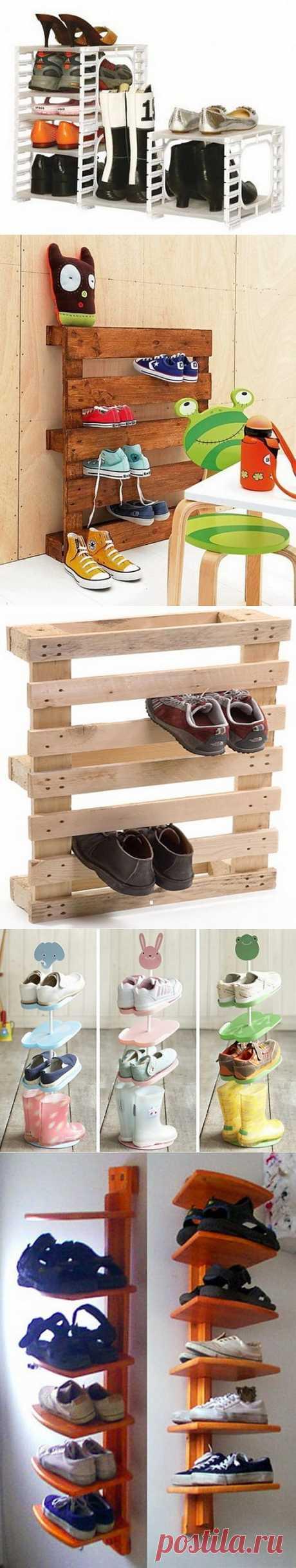 Обувницы для большой и маленькой семьи | УЮТНЫЙ ДОМ | советы