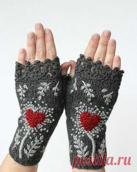 Митенки Natali Bran Модная одежда и дизайн интерьера своими руками