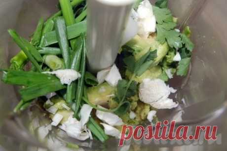 Соус из авокадо - рецепт с фото
