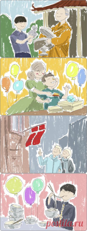 Странные традиции празднования дня рождения в разных странах / Туристический спутник