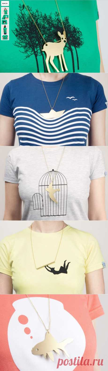 Украшение + футболка: luft und liebe (подборка) / Украшения и бижутерия /
